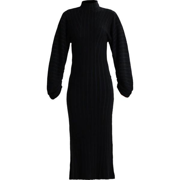 530b960a9d Topshop BOUTIQUE BANANA ARM DRESS Sukienka dzianinowa navy blue ...