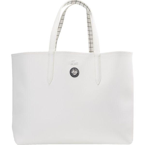 21b8e8a17aec9 Lacoste Sport SHOPPING BAG Torba sportowa blanc filet - Białe torby ...