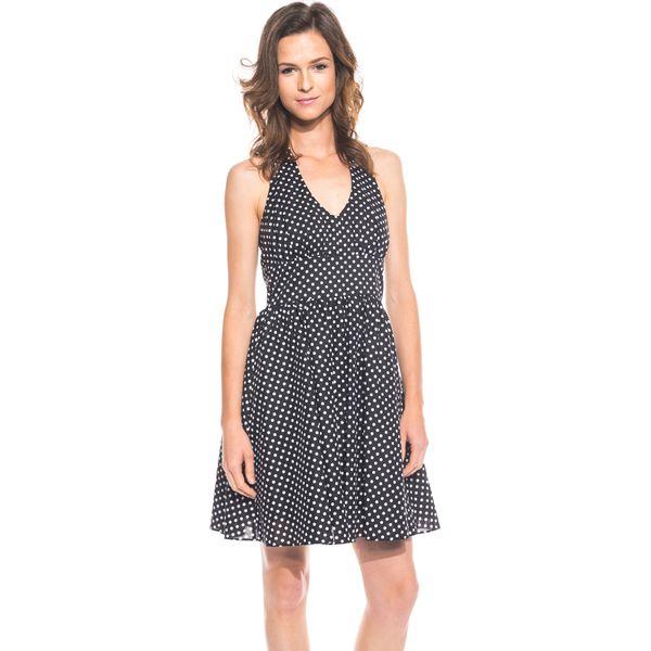 1f62cf6f44 Czarno-biała sukienka typu Pin Up BIALCON - Białe sukienki marki ...