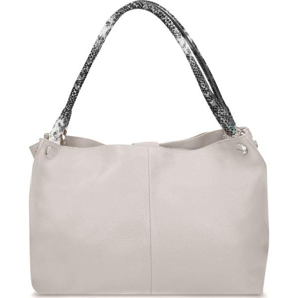 d58e488c2c4dd Hobo SONIA - Szare torebki klasyczne marki Gino Rossi, wizytowe, na ...