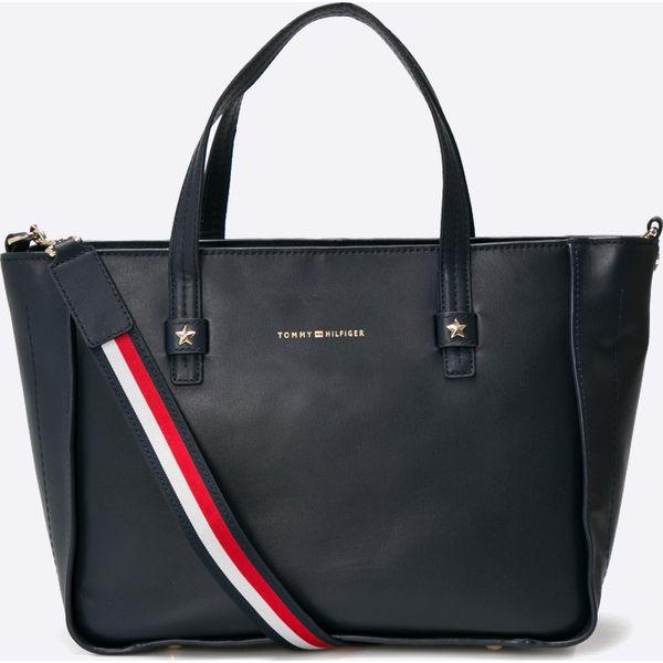 fdcd6e8105837 Tommy Hilfiger - Torebka - Czarne torebki klasyczne marki Tommy ...
