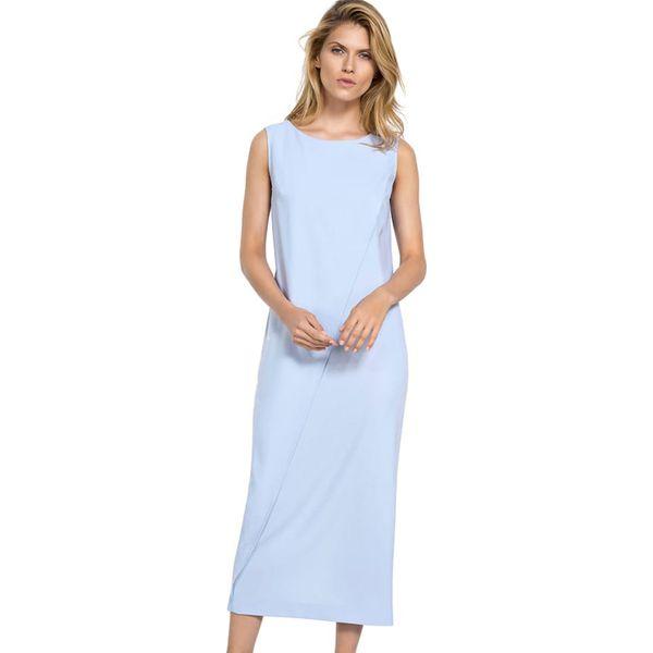 f052d7d13c Sukienka w kolorze jasnoniebieskim - Niebieskie sukienki marki Deni ...