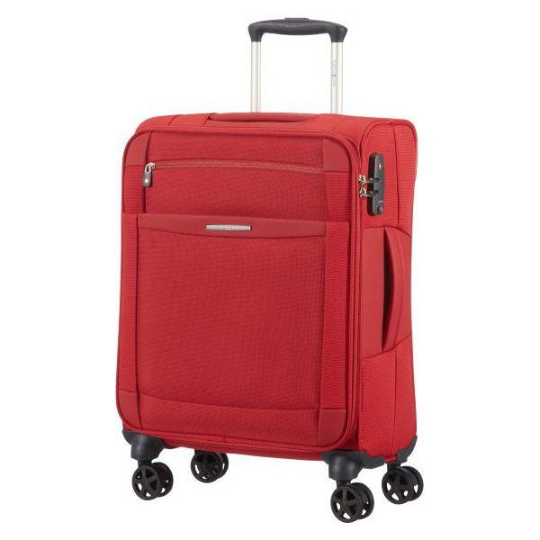 078e3da21bd0e Samsonite Walizka Dynamo 4 Koła 55 Cm Czerwona - Czerwone walizki ...