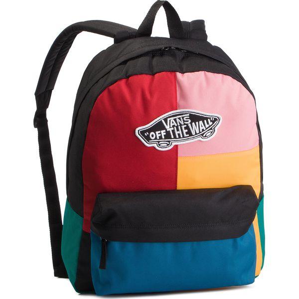 c75e2b2f3b4c2 Plecak VANS - Realm Backpack VN0A3UI6UUW1 Patchwork - Plecaki marki ...