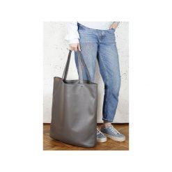 8cb132f7 Mega Shopper bag czarna teksturowana torba oversize Vegan