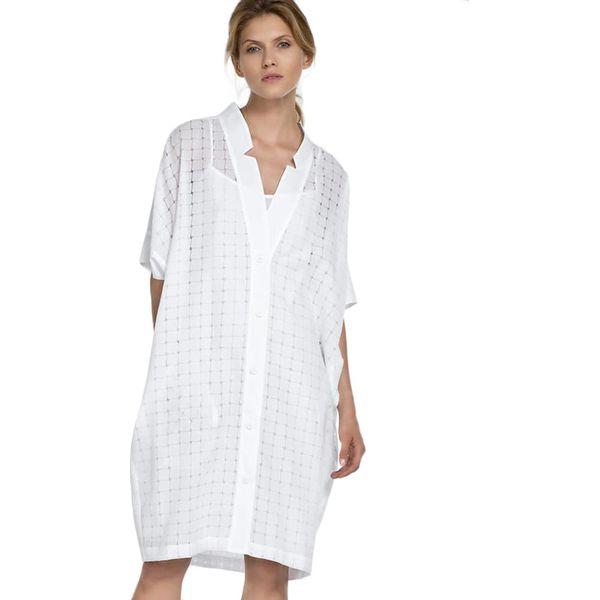 dfd5a4337f Sukienka w kolorze białym - Białe sukienki marki Deni Cler