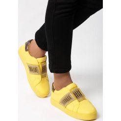 Sportowe buty damskie Filippo 1423 żółte