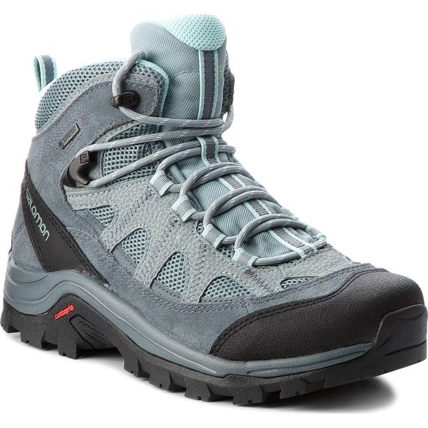 Trekkingi SALOMON Authentic Ltr Gtx W GORE TEX 404644 21 V0 LeadStormy WeatherEggshell Blue