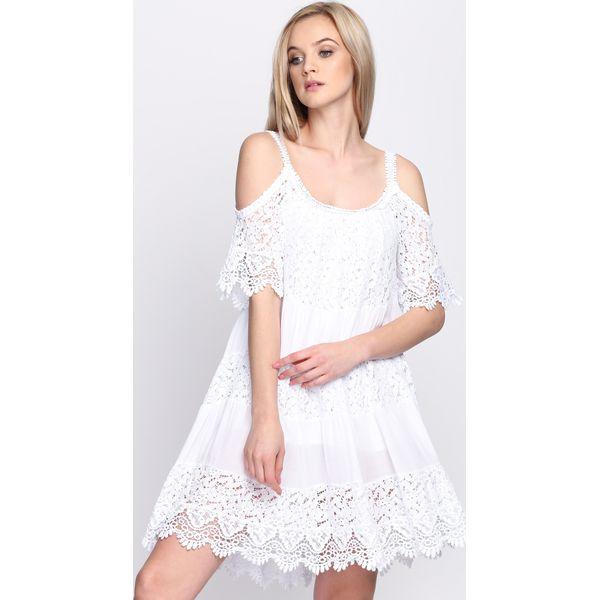 ccccc8509b Biała Sukienka Promise This - Sukienki marki Born2be. Za 44.99 zł ...