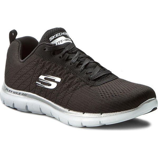 Buty SKECHERS Break Free 12757BBK Black Fitness
