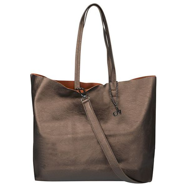 cfd335f78e767 Deha Torebka Damska Torba Na Zakupy d63227 Leather Brown - Shopper ...