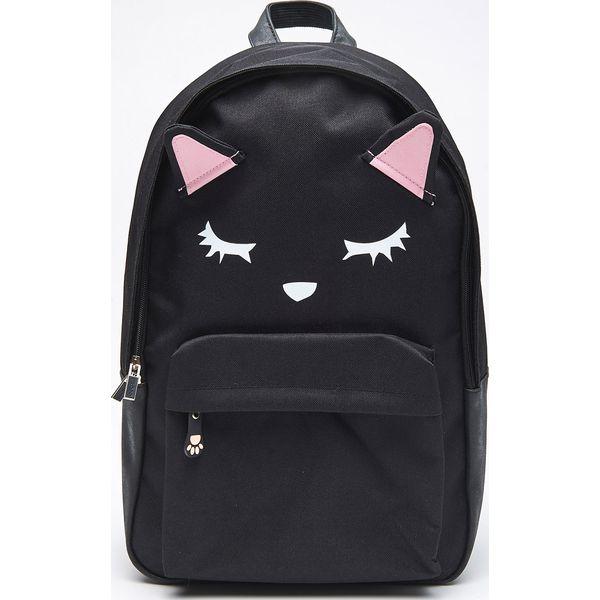 c3581b110ff51 Plecak kot z uszami - Czarny - Plecaki marki Cropp. W wyprzedaży za ...