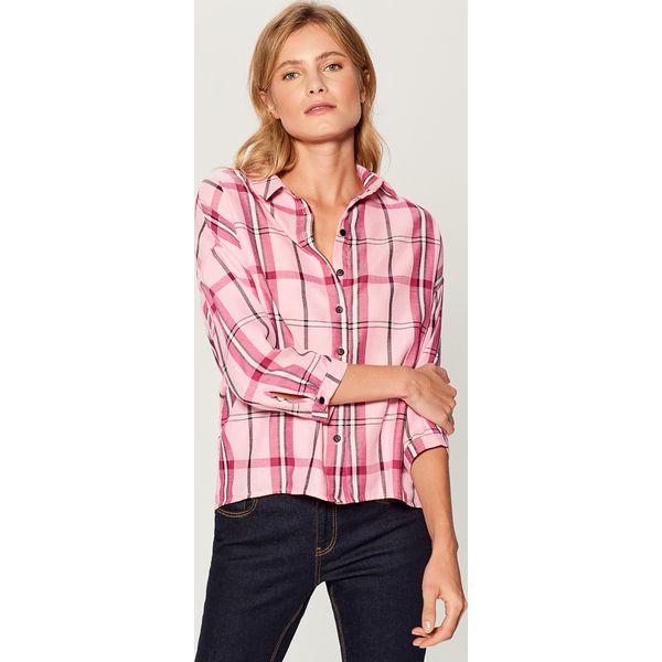 bf8ea39b7d5715 Koszula w kratę - Różowy - Koszule Mohito. W wyprzedaży za 49.99 zł ...