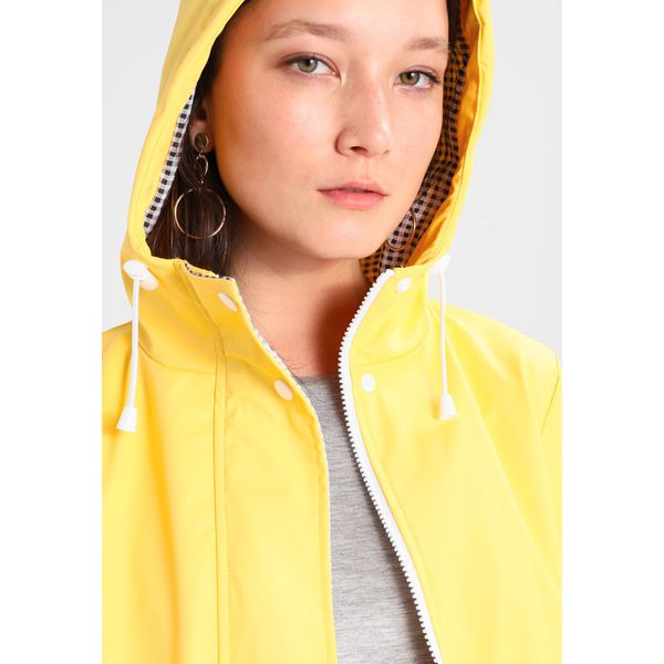 the sale of shoes sale pretty and colorful Dorothy Perkins BUTTON FRONT RAINCOAT Parka yellow