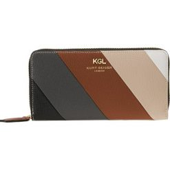 0275ef8971052 Kurt Geiger ZIP AROUND WALLET Portfel tan. Portfele marki Kurt Geiger.