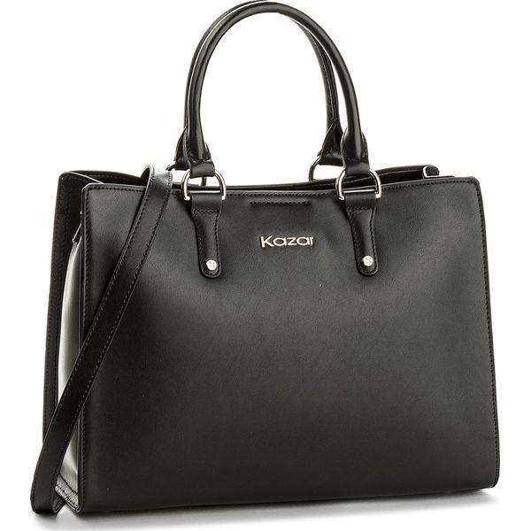 44c6d2cff55af Torebka KAZAR - Latina 32410-01-00 Black - Shopper bag marki Kazar ...