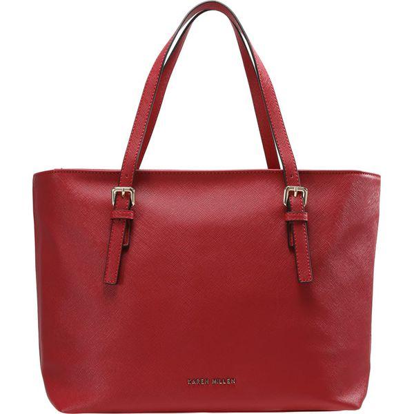 c4aa7285834f8 Karen Millen Torebka red - Czerwone torebki klasyczne marki Karen ...