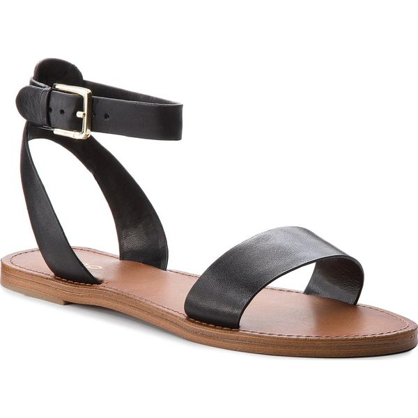 b3a749fb86d7d Sandały ALDO - Campodoro 56124686 97 - Czarne sandały marki Aldo, ze ...