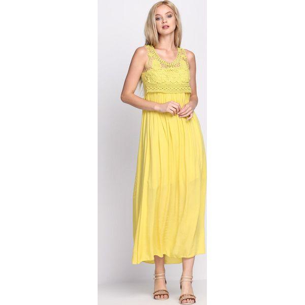 ef3bce202f Żółta Sukienka Anarchy - Żółte sukienki marki Born2be