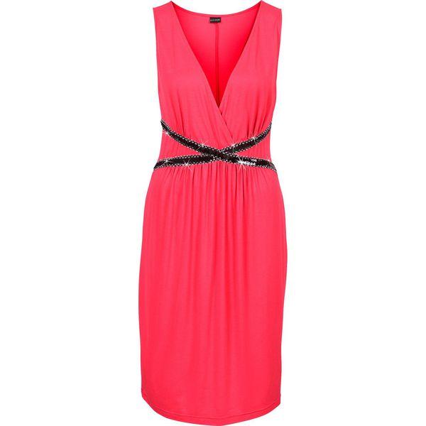 69fecb7a83 Sukienka bonprix ciemnoczerwony - Czerwone sukienki marki bonprix