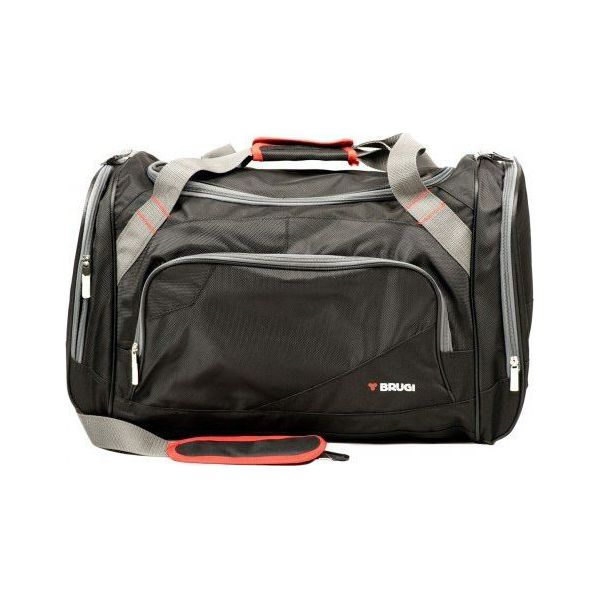 ba7e6e1ec2484 Brugi Torba 4ZLS 500 czarna - Czarne torby sportowe marki Brugi. Za ...