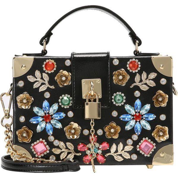 3fe481b39a720 ALDO EURONIKE Torebka black multi - Czarne torebki klasyczne marki ...