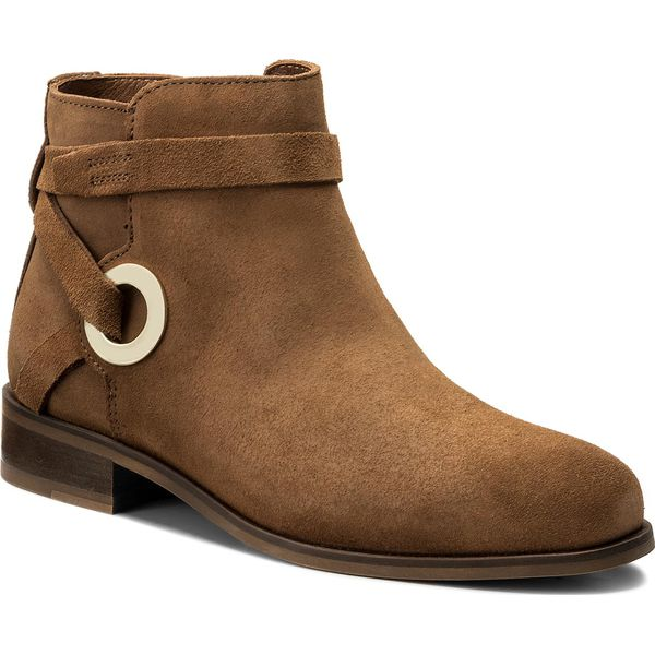439ca4a714536 Botki TOMMY HILFIGER - Flat Bootie With Eyelets FW0FW02267 Summer ...