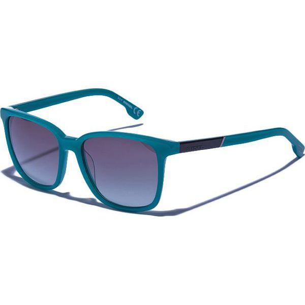 23d766181d2005 Okulary damskie w kolorze turkusowo-czarno-zielonym - Czarne okulary ...
