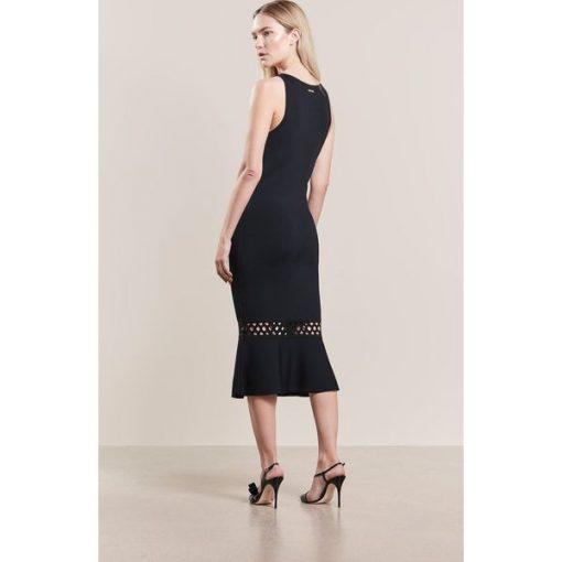 2309a2aa1fb57 MICHAEL Michael Kors Sukienka dzianinowa black - Moda w Women s Health