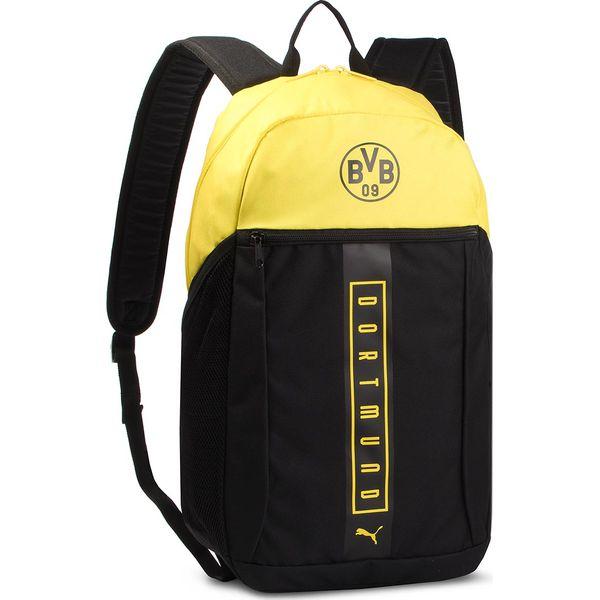 b8d52cac9aa4d Plecak PUMA - Bvb Fan Backpack 075976 01 Puma Black/Cyber Yellow ...