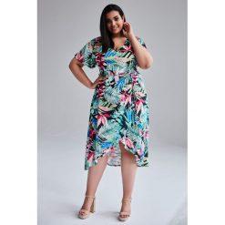 3914d5a03c Dlugie sukienki wieczorowe plus size - Sukienki - Kolekcja wiosna ...