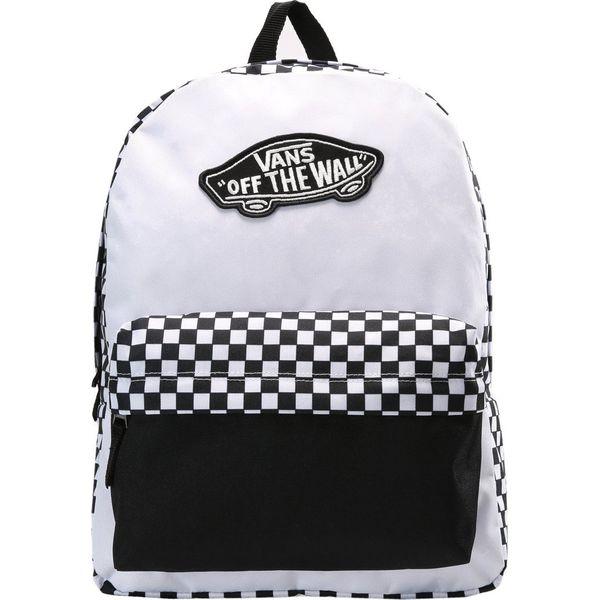 72da03b153532 Vans REALM Plecak black/white - Białe plecaki marki Vans. Za 149.00 ...