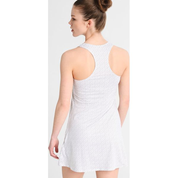 11824eb789 Nike Performance PURE Sukienka sportowa white black - Moda w Women s ...