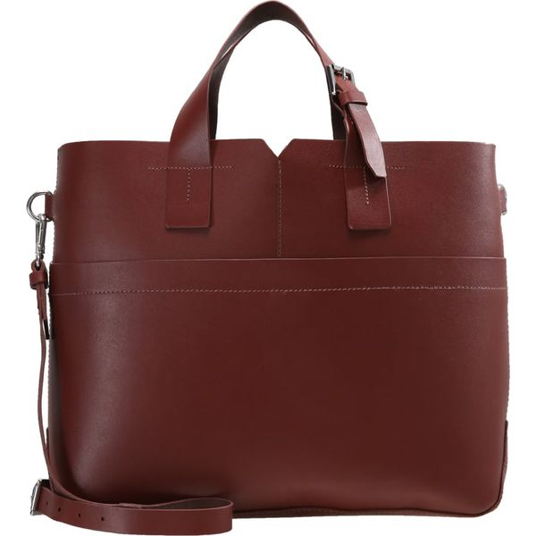 1a6a664a5b133 Zign Torba na zakupy maroon - Brązowe shopper bag marki Zign. W ...