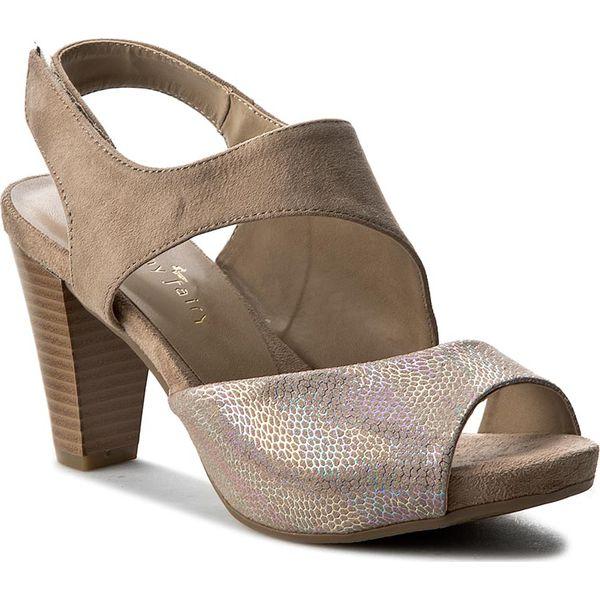 88cb89006f8 Sandały JENNY FAIRY - W17SS811-2 Beżowy - Brązowe sandały marki ...