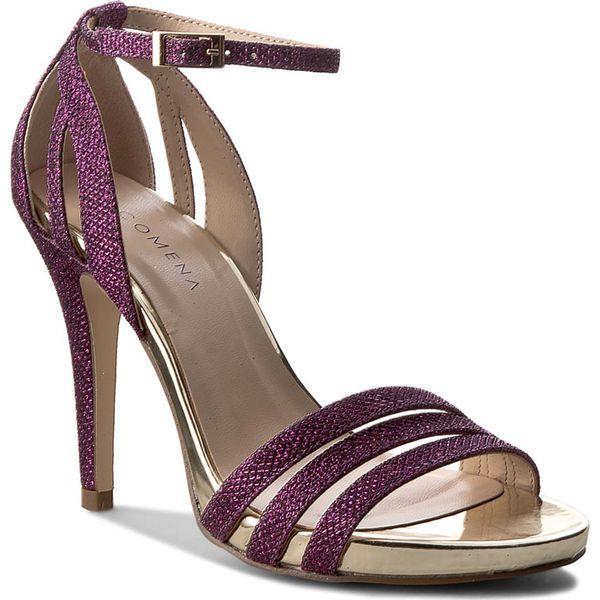 5ab80e128c432 Sandały MENBUR - PACOMENA 07540 Amatista 0018 - Fioletowe sandały ...