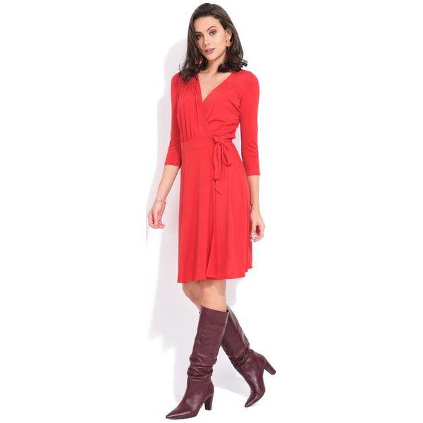 55ae518044 Fille Du Couturier Sukienka Damska Estelle 42 Czerwony - Czerwone ...