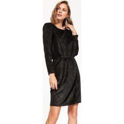 6bc85230f0 sukienki wieczorowe dla puszystych pań długie - zobacz wybrane produkty.  -65%. BŁYSZCZĄCA SUKIENKA DAMSKA Z GUMKĄ W PASIE. Sukienki marki TOP SECRET.