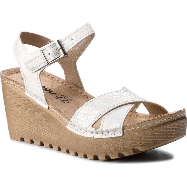 696f5136cc46d Sandały INBLU - GT122E44 Biały - Białe sandały marki Inblu, z ...