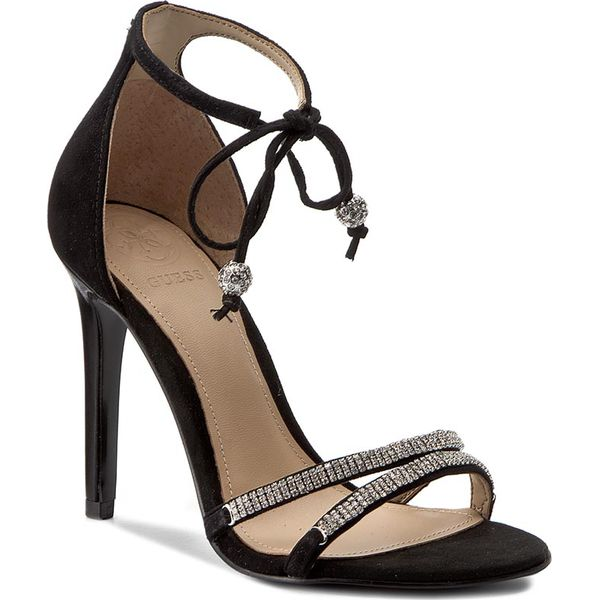 7cc8df85ee2ff Sandały GUESS - Peri FLPRI2 SUE03 BLACK - Czarne sandały marki Guess ...