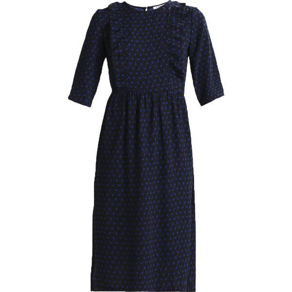244b720726 Pieces PCVIKLA MIDI DRESS Sukienka letnia black - Czarne sukienki ...