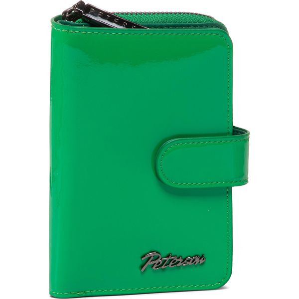 Pojemny portfel damski zielony Milano Design zielony