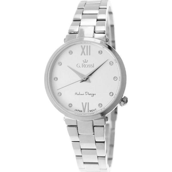 b213144e7854b Zegarek Gino Rossi damski Torgi srebrny (11064-3C1) - Szare zegarki ...