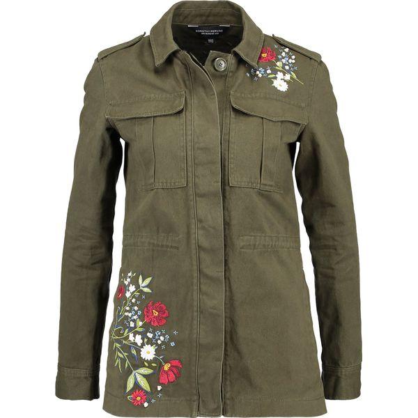 0562e860 Khaki Women's Embroidered Kurtka W Perkins Moda Jeansowa Dorothy qZwTI0