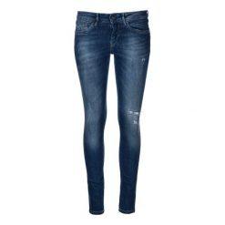 18c413b6dc58b Białe jeansy damskie z dziurami - Jeansy - Kolekcja wiosna 2019 ...