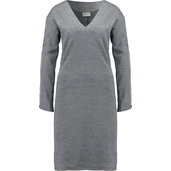 e398450e0b House of Sunny Sukienka dzianinowa tobacco grey - Szare sukienki ...
