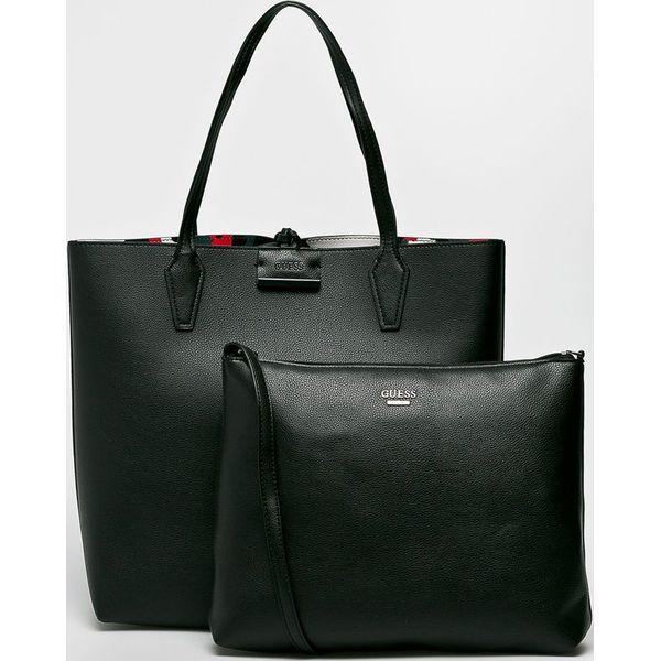 88a4cfc41066c Guess Jeans - Torebka dwustronna Bobbi Large - Shopper bag marki ...
