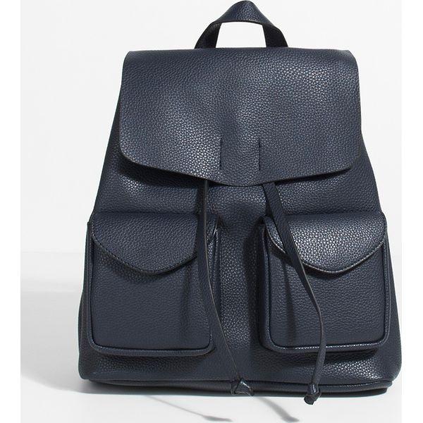 352d4b297d2c9 Parfois - Plecak - Szare plecaki marki Parfois, z materiału. W ...