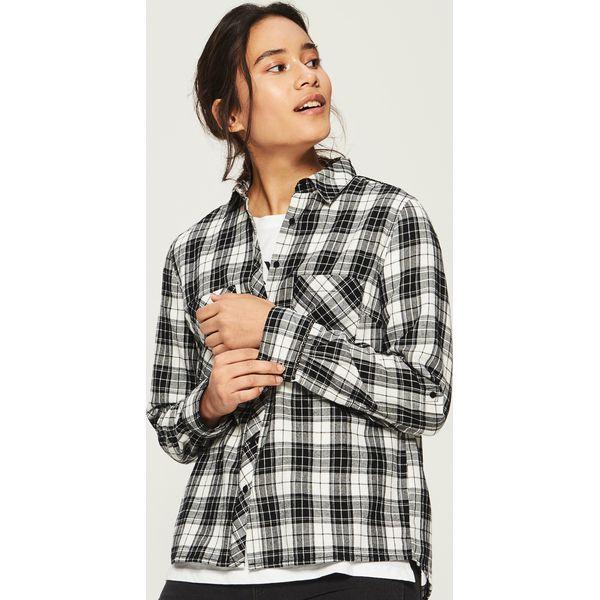 9c53995e8ce204 Koszula w kratę - Czarny - Koszule marki Sinsay. W wyprzedaży za ...
