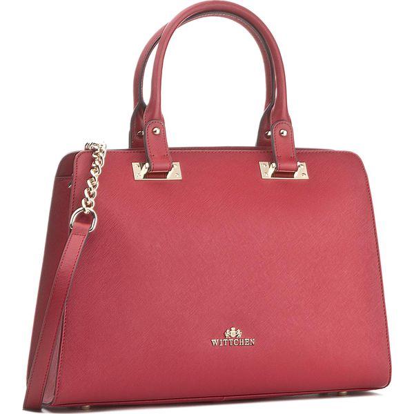 7d7b51bbbdcff Torebka WITTCHEN - 85-4E-445-3 Czerwony - Czerwone torebki klasyczne ...
